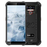 OUKITEL WP5 Global Version 5.5 inch IP68 Waterproof 8000mAh Android 10 13MP Triple Rear Camera 4GB 32GB MT6761 4G Rugged Smartphone