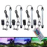 28 cm 4.5W SMD5050 RGB LED Akwarium Fish Tank Zmiana koloru Bar Zatapialna lampa + 44 klucze Zdalne sterowanie