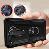 Bakeey for Xiaomi Redmi 9 Case Armor Magnetic Adsorption Shockproof with Finger Ring Holder Stand PC + TPU Protective Case Non-original