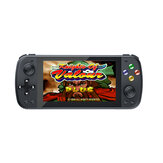 ANBERNIC PS5000 32GB 64GB 10000 Games 128 Bit Retro Handheld Game Console 5,1 inch IPS OLED HD Schermondersteuning PS1 N64 MD CPS NEOGEO GB SFC-speler met gamepad