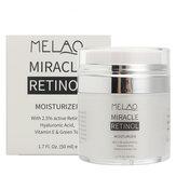 Melao Retinol Nemlendirici Yüz Kremi Serum Anti Kırışıklıklar Yaşlanma Hyaluronik Asit Vitamin E Cilt