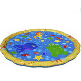 Summer Children's Outdoor Play Water Games Beach Mat Lawn Sprinkler Cushion Toys
