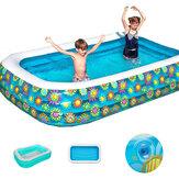 290 x 175 cm Opblaasbaar Zwembad Kinderen Volwassenen Zomer Bad Baby Thuisgebruik Opblaasbaar Zwembad