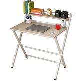 Складной компьютерный стол 83,5 / 100 см, бесплатная установка, домашний офис, ноутбук, письменный стол, экономит место для студентов, учеба, ра