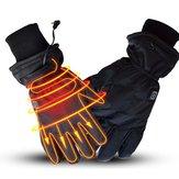 WARMSPACE 7.4 V 3000 mah Luvas Aquecidas Eletricamente Motocicleta Inverno Mais Quente Esqui Ao Ar Livre