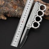 XANES® 200mm Paslanmaz Çelik Katlanır Bıçak Outdoor Survival Aletler Kit Yürüyüş Tırmanışı Balıkçılık Çok Fonksiyonlu Bıçak