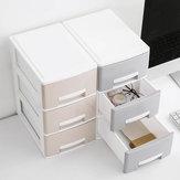 Mini Home Biurko Schludny Pulpit Szuflady Makijaż Biżuteria Naszyjnik Box Storage Desktop Organizator