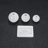 4Pcs Resin Casting Molds Kits Silicone Mold Making Jewelry Pendant Mould Craft