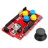 Clavier analogique à carte d'extension de jeu JoyStick Shield avec fonction souris Geekcreit pour Arduino - produits compatibles avec les cartes officielles Arduino