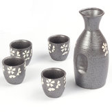 Tazza e tazze da 50 ml Cherry Blossoms Set di 5 tazze da vino in ceramica PCS