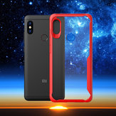 Bakeey Transparent Shockproof Silicone Frame+Acrylic Protective Case For Xiaomi Redmi Note 6 Pro