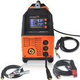 MIG-200AL 6 in 1 220V Inverter Arc Electric Welding Machine MIG/MMA/LIFT TIG/PULSE AlMg/PULSE AlSi/DOUBLE PULSE Welder for Welding Electric Working LCD Display