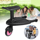Kids Safety Stroller Step Board Comfort Wheeled Pushchair Max load 25kg