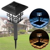 LED Solar Lights Waterproof Column Headlight Lawn Lamp for Outdoor Garden Yard