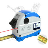 DANIU 30M Laser Rangefinder + 5M Anti-fall Steel Tape Metric and Inch Tape measure High Precision Distance Meter