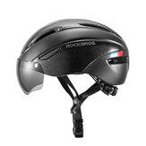 ROCKBROS Fietshelm Verstelbare bril Ultralichte beschermende helm Fietsen Bike sporthelm