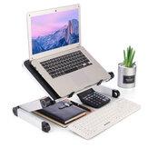 30 * 24 cm Składany z otworem wentylatora chłodzącego Aluminiowy laptop Komputer Biurko Telewizor Łóżko Komputer Mackbook Uchwyt biurkowy Mały stolik