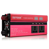 4000 W 12 V / 24 V DC para 110 V / 220 V AC Solar Power Inverter LED Conversor de Senoidal Modificado