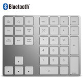bluetooth Digital Keyboard Aluminum Alloy Wireless Digital Keyboard Applicable To Apple Laptop Office Computer