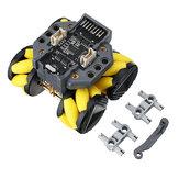 Base móvel omnidirecional programável RoverC para robô compatível com microcontrolador M5StickC STM32f030f4