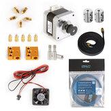 Creality 3D® Ender-5 Pro Pakiet części zużywających się z zestawem silnika 42-40 / PTEF TUbe / wentylatory chłodzące / pasek rozrządu / sprzęgło
