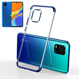Bakeey Plating Shockproof Non-Yellow Transparent Soft TPU Protective Case for Xiaomi Redmi 9C Non-original