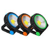 Portable COB LED crochet magnétique camping lanterne extérieure travail torche suspendu lumière d'urgence