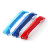 Front Kidney Grill Grille Cover Clip Trim M-Color 3 Colors For BMW X1 F48 LCI 2020+