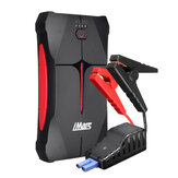 iMars Portable Car Jump Starter 1000A 13800mAh Powerbank Emergency Battery Booster Vandtæt med LED lommelygte USB-port