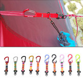 Aluminum Alloy Outdoor Camping Tent Rope Buckle S Shape D Shape Windproof Awning Tent Accessories