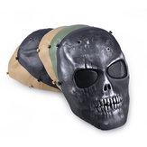 Açık havada CS Maskeleri Toz geçirmez Anti-tükürme Koruma Yüz Maskesi Tam Yüz Guard Savaş Oyunu Airsoft Paintball Kafa Tası Maske
