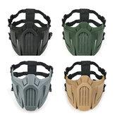Anti Toz Nefes CS Maske Güvenlik Koruyucu Taktik Yarım Yüz Maske Ayarlanabilir Elastik Bandaj Maske s