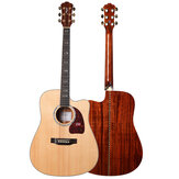 Morgan CP600-DC / CP600-GC A-class Sitika Single Board Acoustic Model 41 inch Folk Guitar Beginner Novice Entry Guitar Male and Female Students Self-learning Musical Instruments