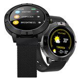 Bakeey YH2 Schermo da 1,3 pollici full-touch Cuore Tasso di pressione sanguigna O2 Monitor Meteo Push Musica fotografica Controllo Luminosità Controllo Smart Watch