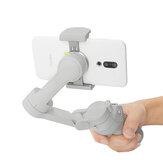 Szary magnetyczny uchwyt na telefon komórkowy klamra przedłużający wspornik do ręcznego gimbala DJI OSMO4