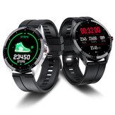 Bakeey KP01 Cara de reloj personalizada HD Pulsera de pantalla Entrenamiento de respiración Corazón Tarifa Monitor Reloj inteligente con control de música