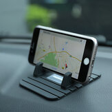 REMAX Ikke-Slip Soft Silikon Car Pad Desktop Mount Stativ Lader Holder For iPhone Samsung GPS