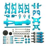 Peças de atualização de metal para modelos de veículos automóveis Wltoys 144001 1/14 4WD RC