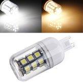 G9 3W White/Warm White 350LM 27 SMD 5050 LED Corn Light Bulb 12V