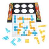Two-Player Version Gladiator Board Game Tetris Puzzle Game for Children's Educational Toy Batch