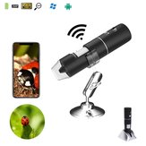 2MP Completo HD 1080P WI-FI 1000x Microscópio Digital Lupa Câmera para iPhone ios Android iPad Embutido