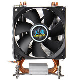 4 caloducs en cuivre CPU Cooler 9cm Ventilateur silencieux Radiateur 3 / 4Pin Cooling Fan Heatsink Cooler For 115x 2011 X58 X79 X99 X299 AMD3 / 4