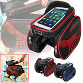 BIKIGHT EVA Bike Front Frame Bag Touch Screen Phone Bag IP65 Waterproof Bicycle Bag
