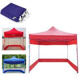 Tenda a baldacchino da 30 piedi 3 lati da parete impermeabile e antivento Cinghia per riparo all'aperto campeggio Copertura per tenda da picnic