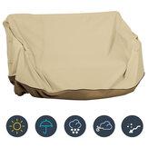 Osłona huśtawki z baldachimem Wodoodporny UV Wymiana ochraniacza Outdoor Garden Swing Cover Ochrona mebli