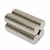 100 Stück N50 10x1,5 mm starke Zylinderscheibenmagnete Seltenerd Neodym Magneten