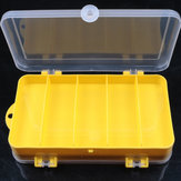 ZANLURE 17.5x9.5x4cm Fishing Tackle Box Fish Lure Box Fishing Hook Storage Case For Outdoor Fishing Hunting
