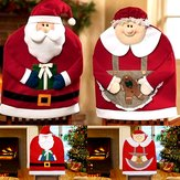 Kerstmis Kerstmanstoel Dekent Dinner Chair Decorations Kerstmis Geschenken voor Home Party Holiday