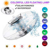 Colorful LED Underwater Solar Light Waterproof Swimming Pool Floating Decorative Lamp