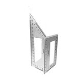 Multifunctional 45/90 Degree Square Angle Ruler Gauge Measuring Woodworking Tool